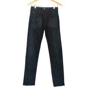BOYS 7 FOR ALL MANKIND BLACK PAXTYN SLIM FIT JEANS